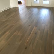 French/German White Oak wood flooring installed