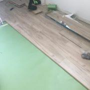 Installing laminate Oak flooring