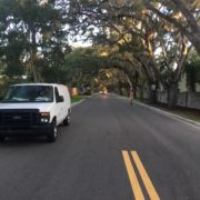 Another view of one of the prettiest streets in St. Augustine, Florida.