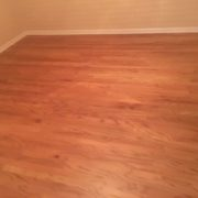 Refinished rotary peeled Red Oak flooring