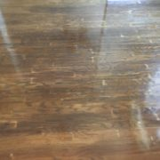 stain over rotary peeled engineered wood flooring