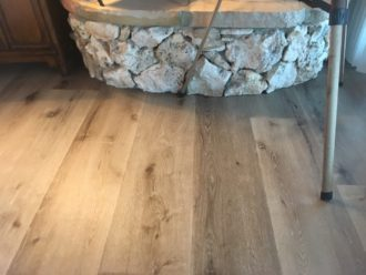 White Oak Engineered Vinyl Plank Flooring Install St
