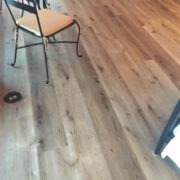 Engineered vinyl plank flooring - installed