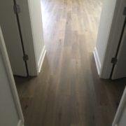 French/German White Oak flooring installed