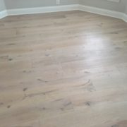 French Oak hardwood flooring installed