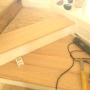 Preparing staircase