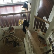 Preparing staircase