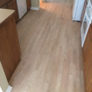 Sanding rotary peeled engineered wood flooring
