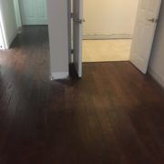 Wood flooring to be removed