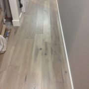 FSC Certified Hickory flooring - installed