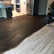 Applying Bona wood floor stains