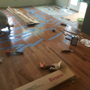 Installing solid Red Oak flooring