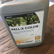 Pall-X Color sealer by Pallmann