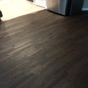 Stained Red Oak flooring