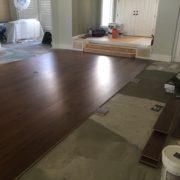 Installing American Walnut flooring