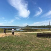 View from the lake front project home in Ocala National Forest.