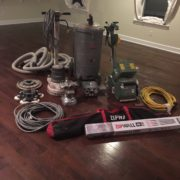 Dan's Floor Store gear on original White Oak floor.