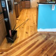 Refinished Heart Pine floor