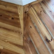 Refinished Heart Pine floor