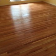Finished Red Oak Flooring installation