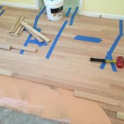 Installing unfinished Red Oak flooring