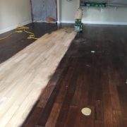 Sanding White Oak flooring