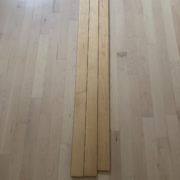 3 shades of yellow in Maple planks
