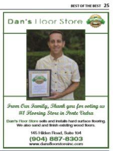 Dan;s Floor Store Best of the Best Thank You