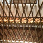 Hickory flooring detail - inside elevator