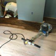 Applying Bona stain to Red Oak flooring