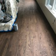Bona Jobean stained Red Oak flooring