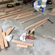 Installing Red Oak flooring