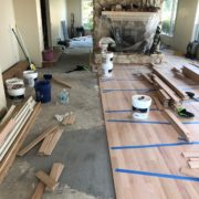 Installing Red Oak flooring