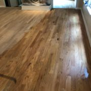 Popping the Red Oak flooring grain