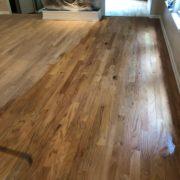 Popping the Red Oak flooring grain