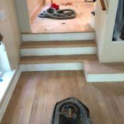 Sanding Red Oak hardwood flooring