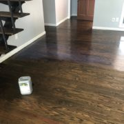 Pallmann sealer - finishing stained Southern Yellow Pine flooring