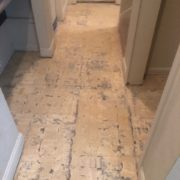 concrete slab - old flooring removed
