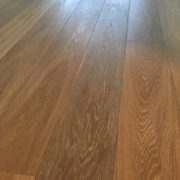 Re-oiled White Oak flooring