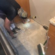 removing old wood flooring