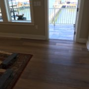 White Oak floor prior to re-oiling