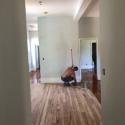 Refinishing heart pine plank flooring