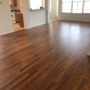 Caribbean rosewood flooring - living room