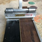 Cutting luxury vinyl plank flooring to size