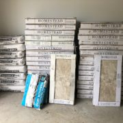 Emser porcelain floor tiles for home renovation project in Eagle Harbor