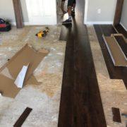 Installing luxury vinyl plank flooring