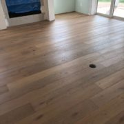 Engineered White Oak flooring - installed