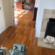 Old Red Oak floors need refinishing