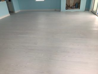 Sand Paint Finish Wooden Floors South St Augustine Beach