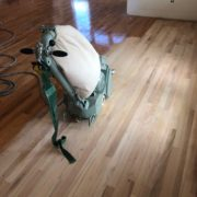 Sanding Red Oak flooring